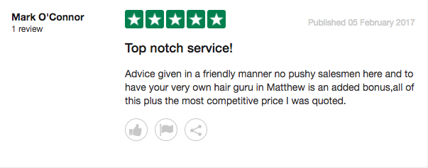 Our Patients Have Some Really Nice Things To Say Hair Repair Clinic